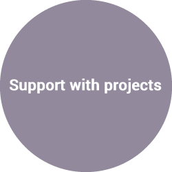 Support with projects